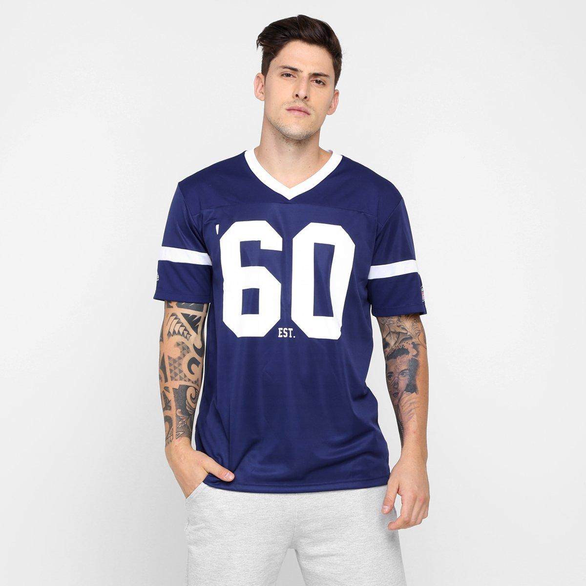 Camiseta New Era NFL Jersey New England Patriots - Compre Agora ... 21036c004ce9f