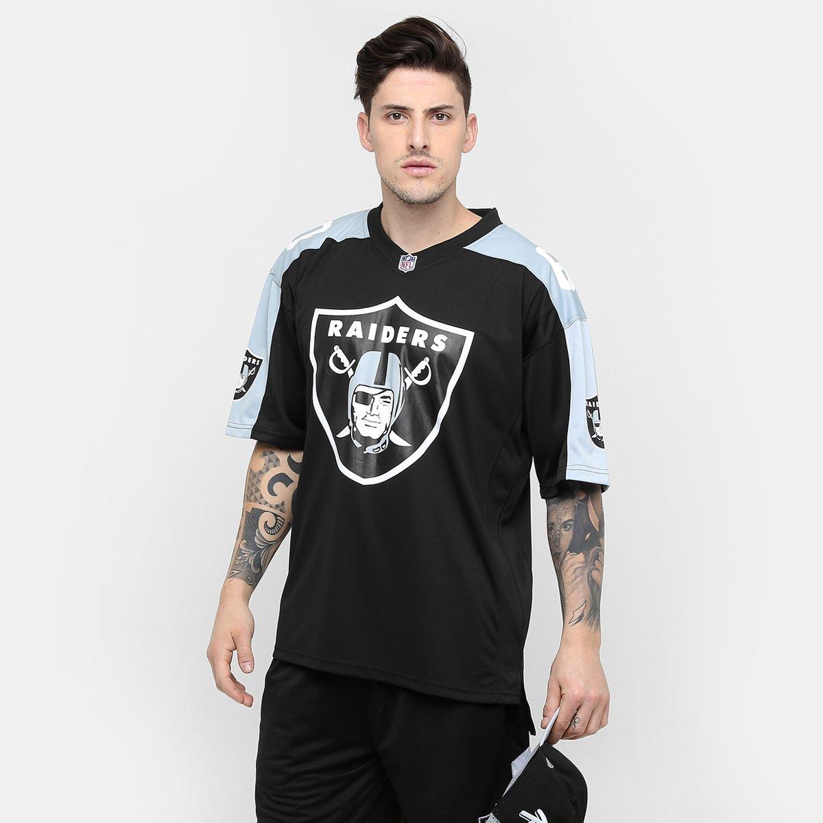 b57455e733ecf ... promo code for camiseta new era nfl jersey oakland raiders compre agora  netshoes 51cae 7d62e