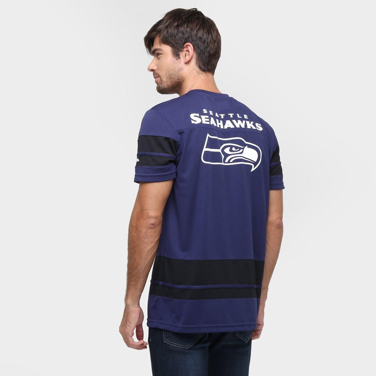 4f227e77f Camiseta New Era NFL Jersey Seattle Seahawks - Compre Agora