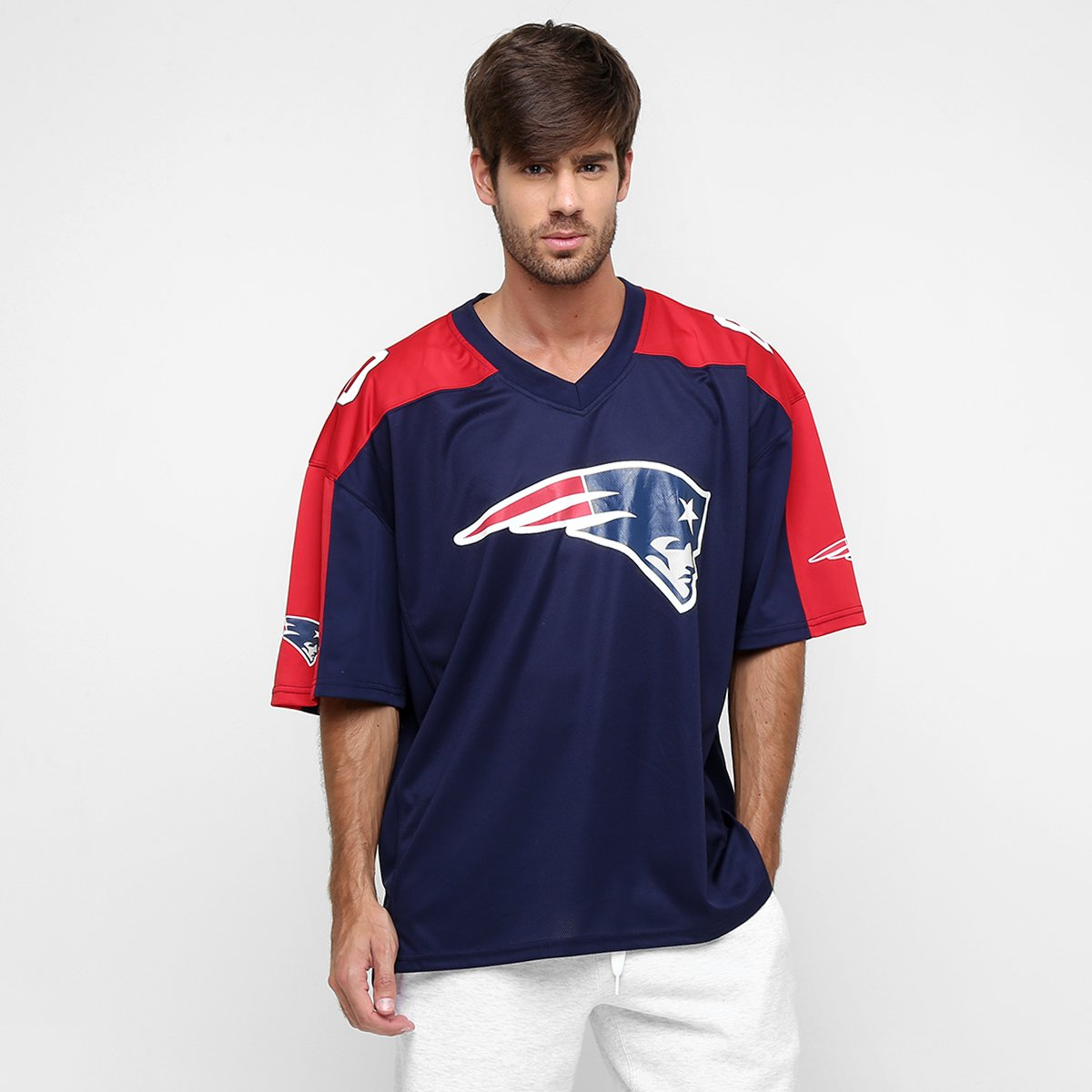 Camiseta New Era NFL Jersey Synthetic New England Patriots - Compre ... ad47c51c2d2
