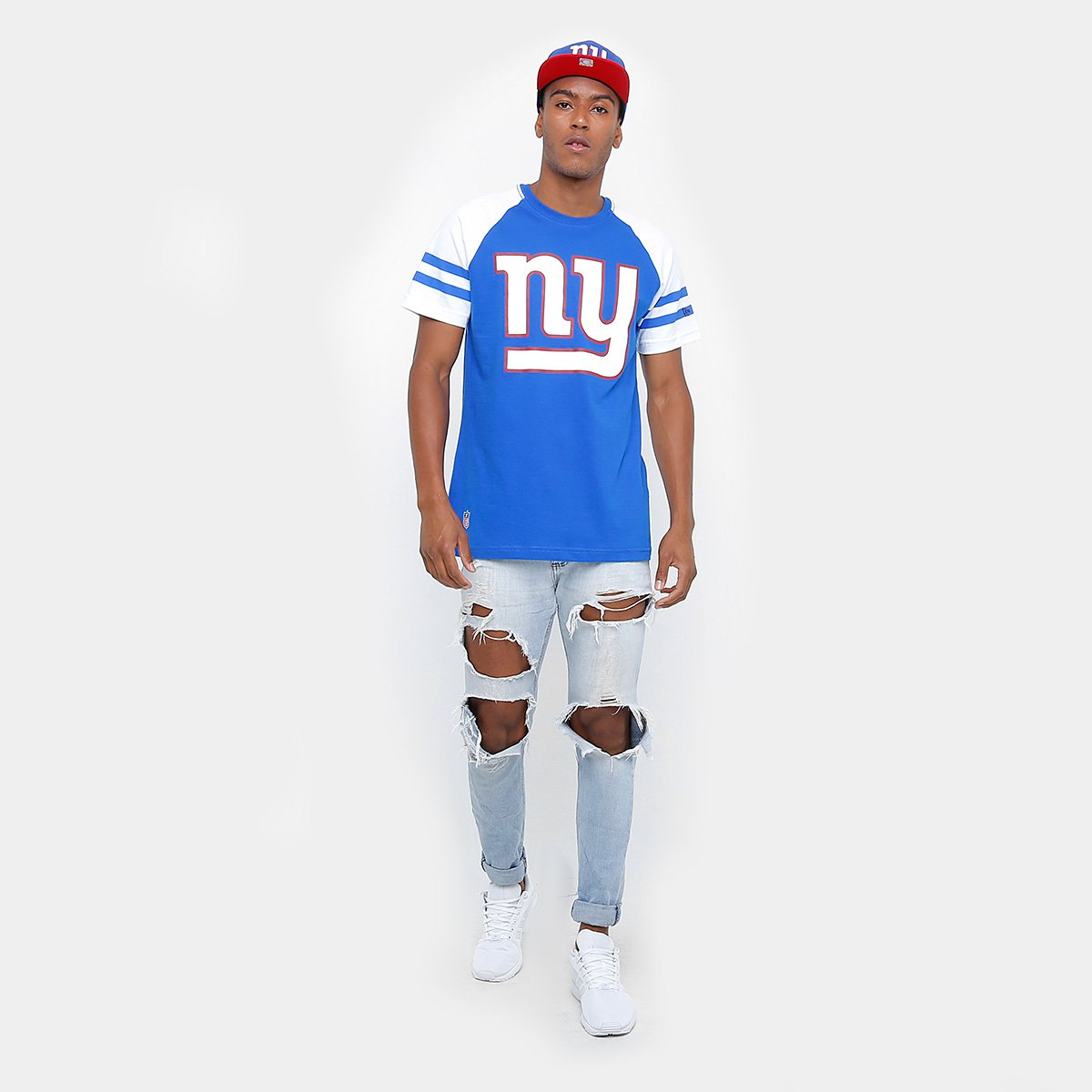 Camiseta New Era NFL Logo New York Giants - Compre Agora  fb606c517a233