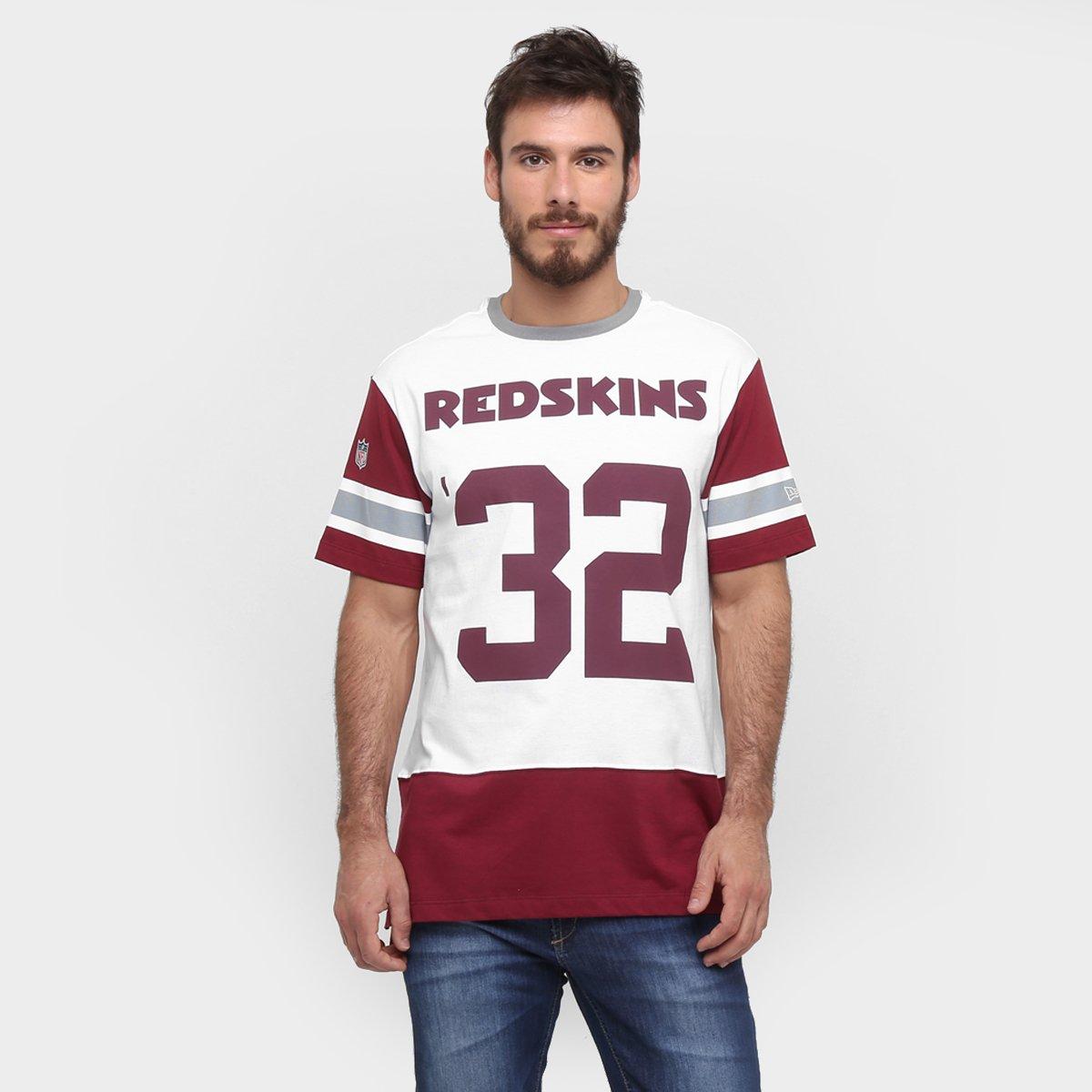 d0339a9cc Camiseta New Era NFL Long Date Washington Redskins - Compre Agora ...