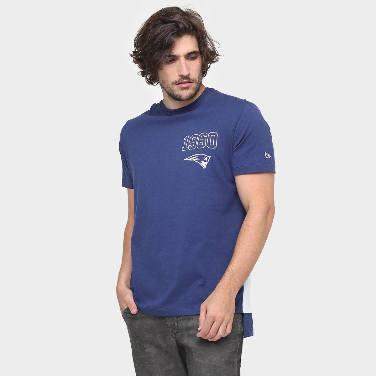 Camiseta New Era NFL Longer New England Patriots - Compre Agora ... b3d9fbc61bc96