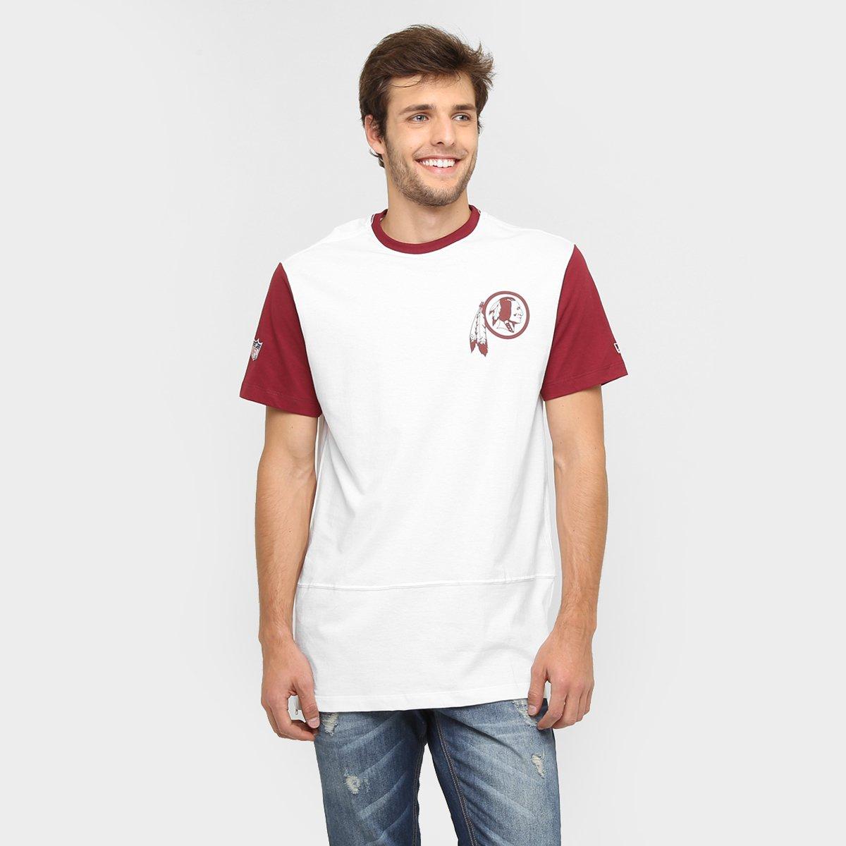 e3a49953b Camiseta New Era NFL Longname Washington Redskins - Compre Agora ...
