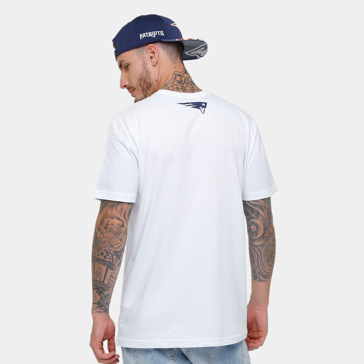 ... Camiseta New Era NFL New England Patriots Jogadores Masculina ... 0583c4efe6f6e