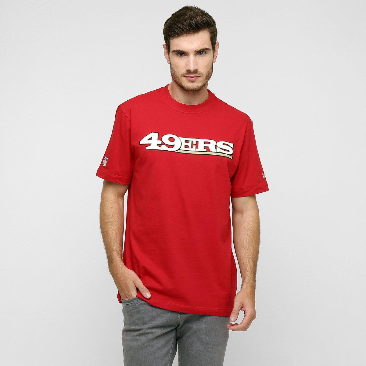 0ec9bc2152925 Camiseta New Era NFL Newperm San Francisco 49Ers - Compre Agora ...