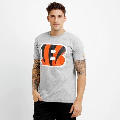 Camiseta New Era NFL Permanente Cincinnati Bengals - Masculino