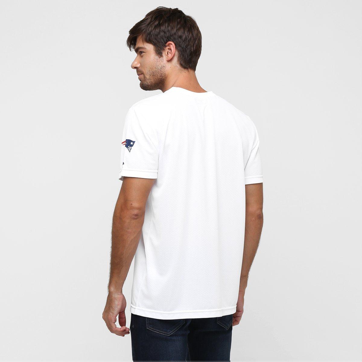 Camiseta New Era NFL Race New England Patriots - Compre Agora  cbbbd6a4abe40