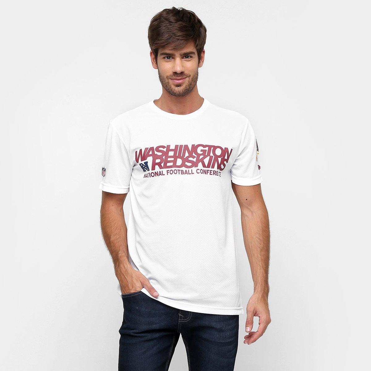 5db27bd41 Camiseta New Era NFL Race Washington Redskins - Compre Agora