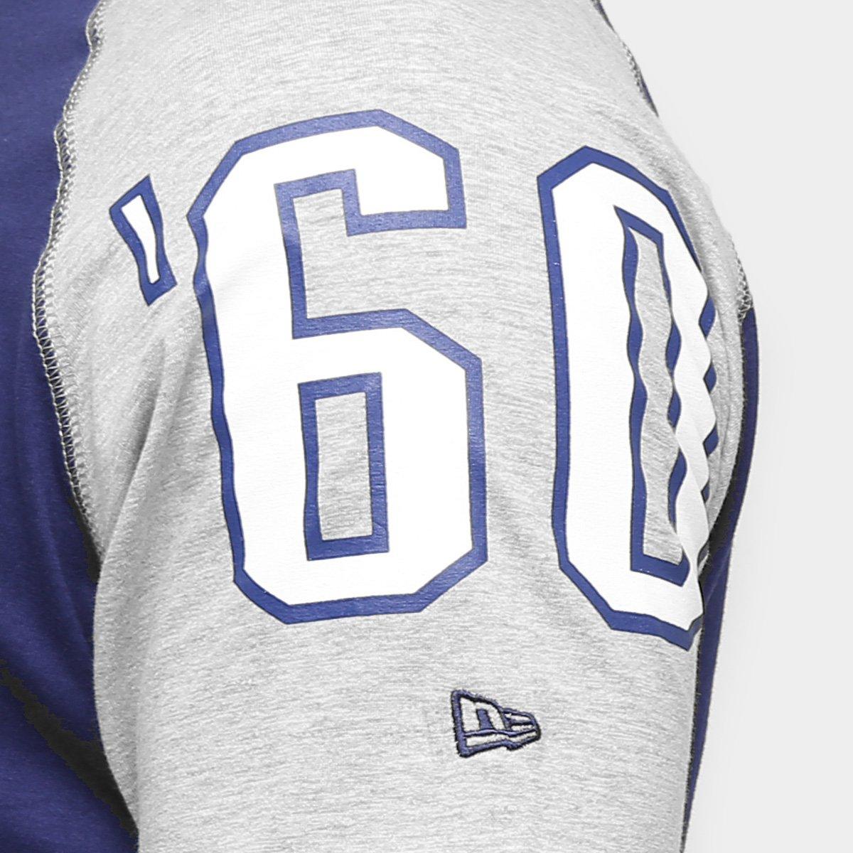 Camiseta New Era NFL Raglan Rec New England Patriots - Compre Agora ... d3e7ba750d1