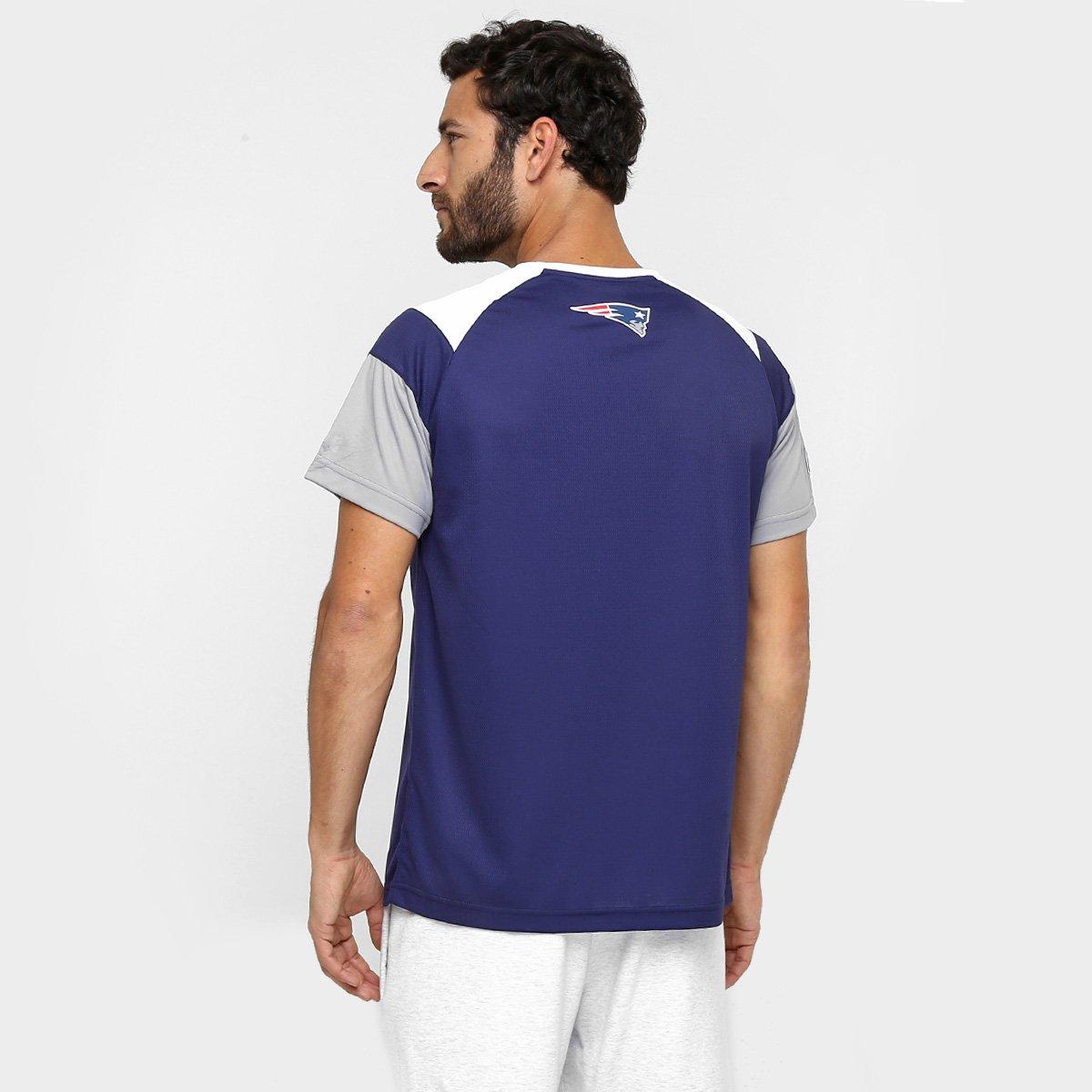 Camiseta New Era NFL Raglan Recorte New England Patriots - Compre ... 3bc246247e5