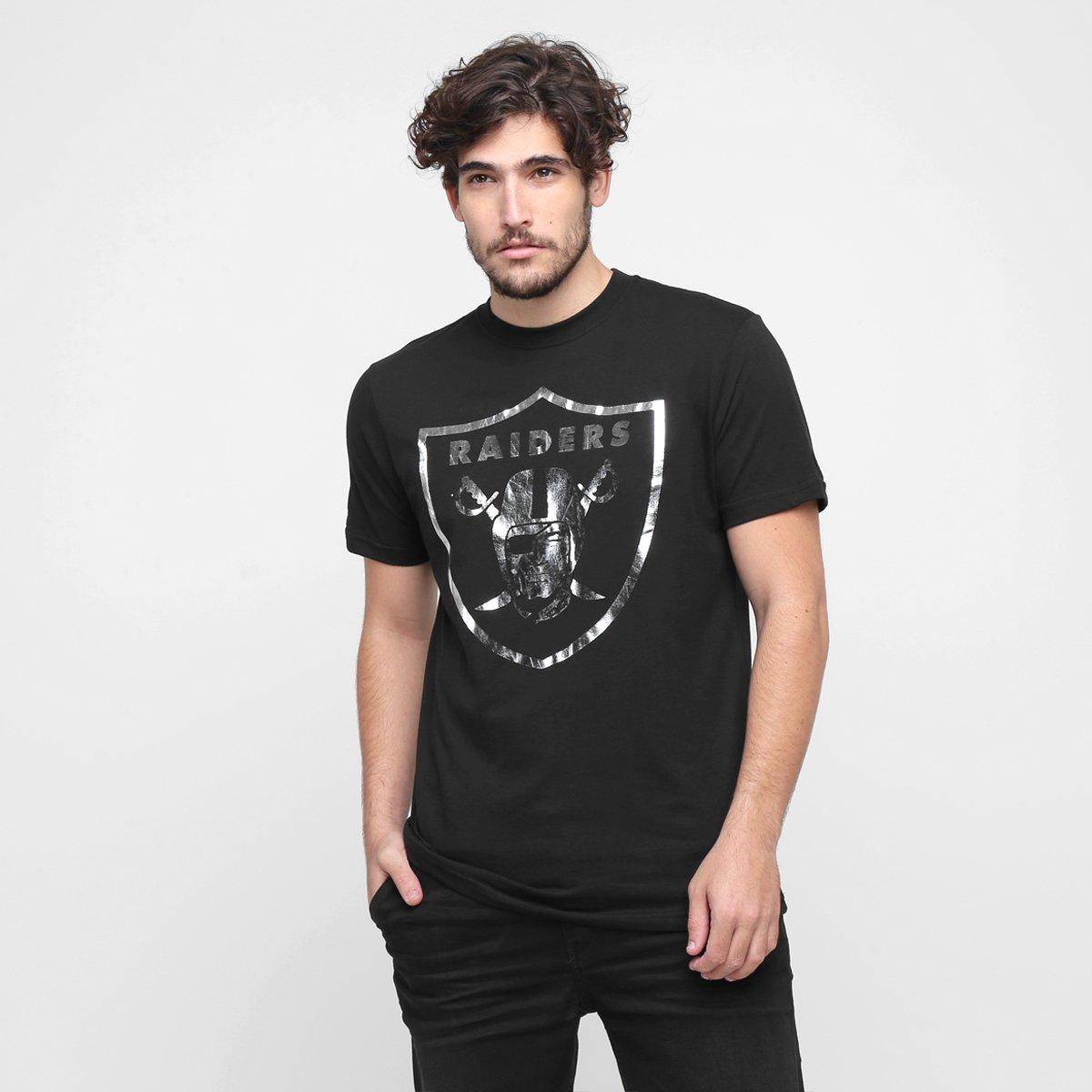 e83547d188795 Camiseta New Era NFL Receiver Oakland Raiders - Compre Agora