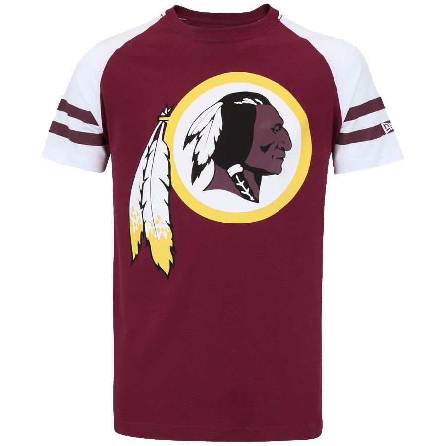 Camiseta New Era Nfl Redskins Raglan Logo - Compre Agora  a19992af206