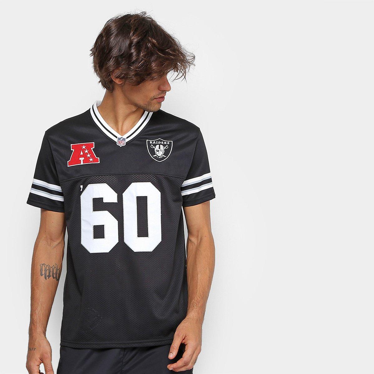 Camiseta New Era NFL Sports Vein Oakland Raider Masculina - Compre ... c0b5bdc0b5e43