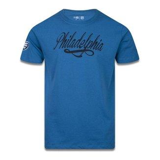 Camiseta New Era Philadelphia Eagles NFL Core Go Team Azul