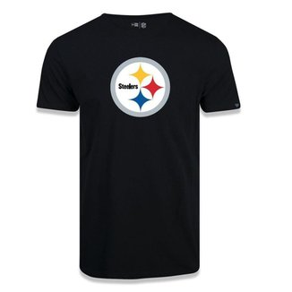 Camiseta New Era Pittsburgh Steelers Logo Time NFL