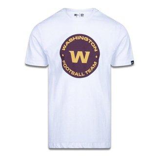 Camiseta New Era Washington Football Team Logo Time