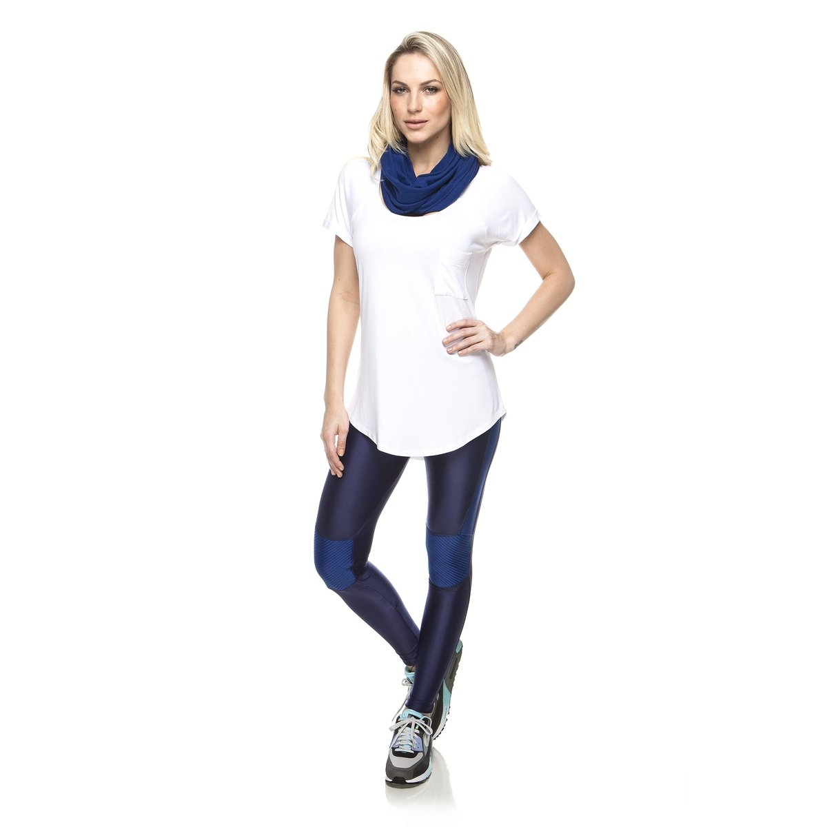 Camiseta Branco Pocket Up New Pocket New Camiseta Vis Ex0RnSqw