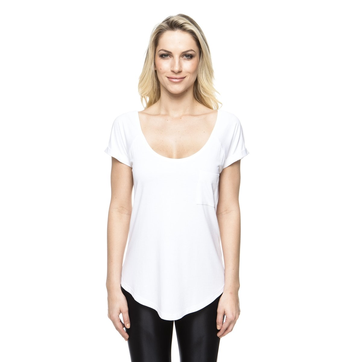 Camiseta New Up Pocket Camiseta Vis Vis Up New Pocket Branco Branco 4qFrpw4