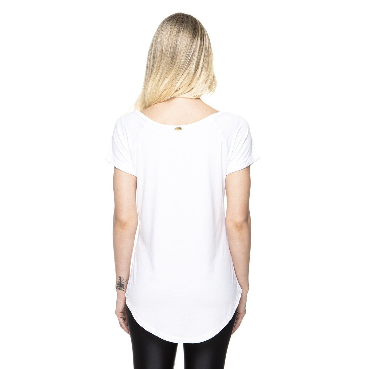 New Pocket Up Camiseta Branco Branco Vis Pocket Camiseta Up Camiseta New Vis wOIRnFqx