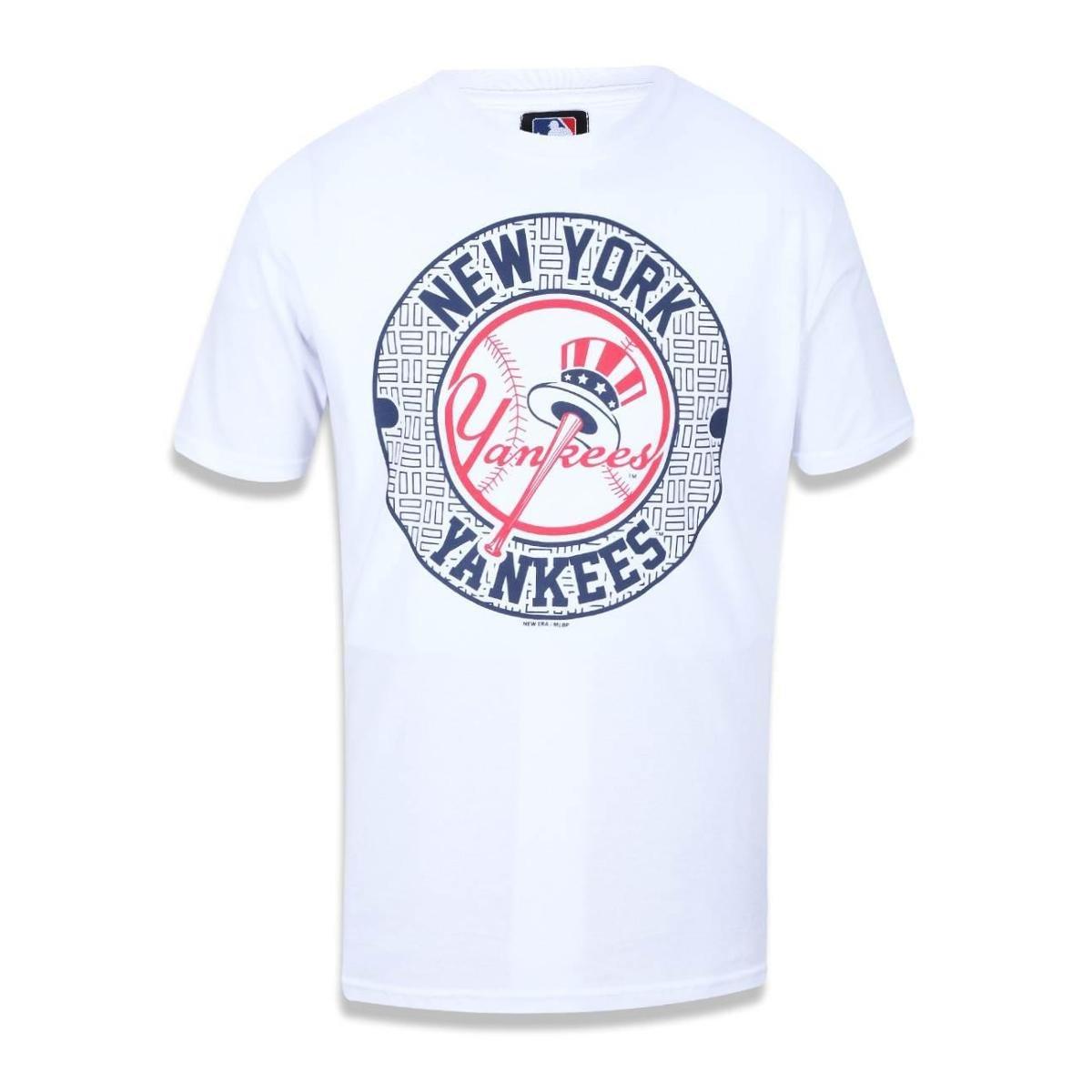 Camiseta New York Yankees MLB New Era Masculina - Compre Agora ... 5de35e09dbb