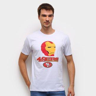 Camiseta NFL  49ers Marvel Masculina