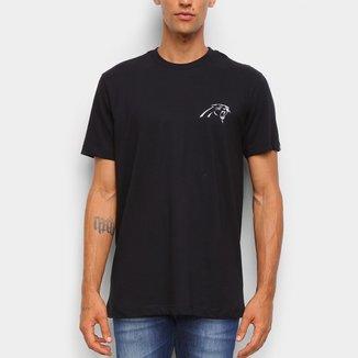 Camiseta NFL Carolina Panthers New Era Logo Carpan Masculina