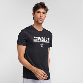 Camiseta NFL Dallas Cowboys New Era Dual Sport Fast Masculina
