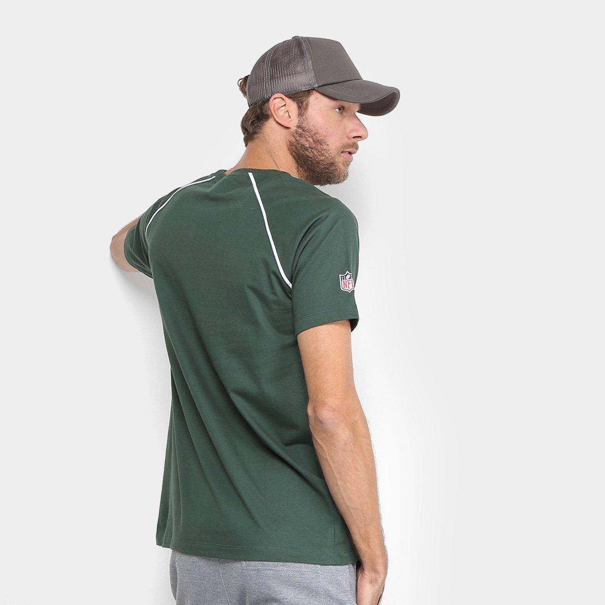 ... Camiseta NFL Green Bay Packers New Era Letter Sport Vein 17 Masculina  ... a7b7ed4bc97