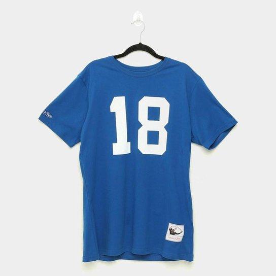 Camiseta NFL Indianapolis Colts - Mitchell & Ness - Azul