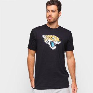 Camiseta NFL Jacksonville Jaguars New Era Basic Masculina