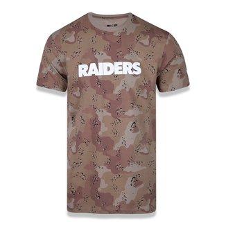 Camiseta NFL Las Vegas Raiders New Era Desert Full Masculina