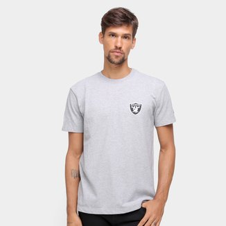 Camiseta NFL Las Vegas Raiders New Era Urban Tech Double Shield Masculina