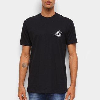 Camiseta NFL Miami Dolphins New Era Logo Miadol Masculina