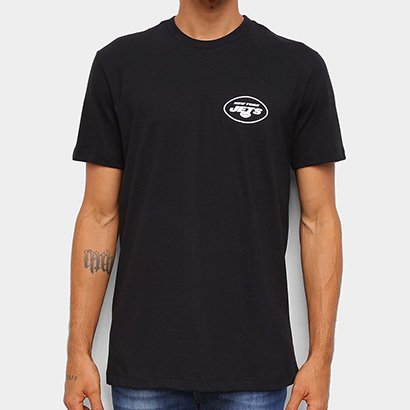 Camiseta NFL New York Jets New Era Logo Shield Masculina