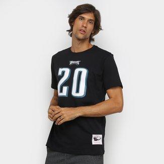 Camiseta NFL Philadelphia Eagles nº 20 Brian Dawkins Mitchell & Ness Masculina