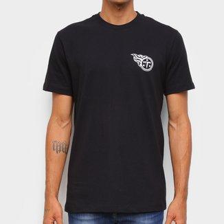 Camiseta NFL Tennessee Titans New Era Logo Tentit Masculina
