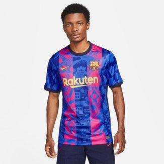 Camiseta Nike Barcelona 2021/22 Stadium Third Masculina