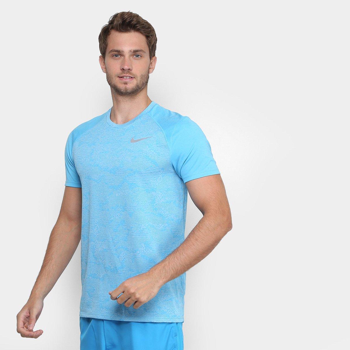Camiseta Nike Breathe Miler Ss Nv Masculina - Compre Agora  29aa724bf1a9f