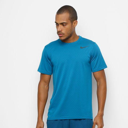 Camiseta Nike Brt Ss Vent Masculina - Verde