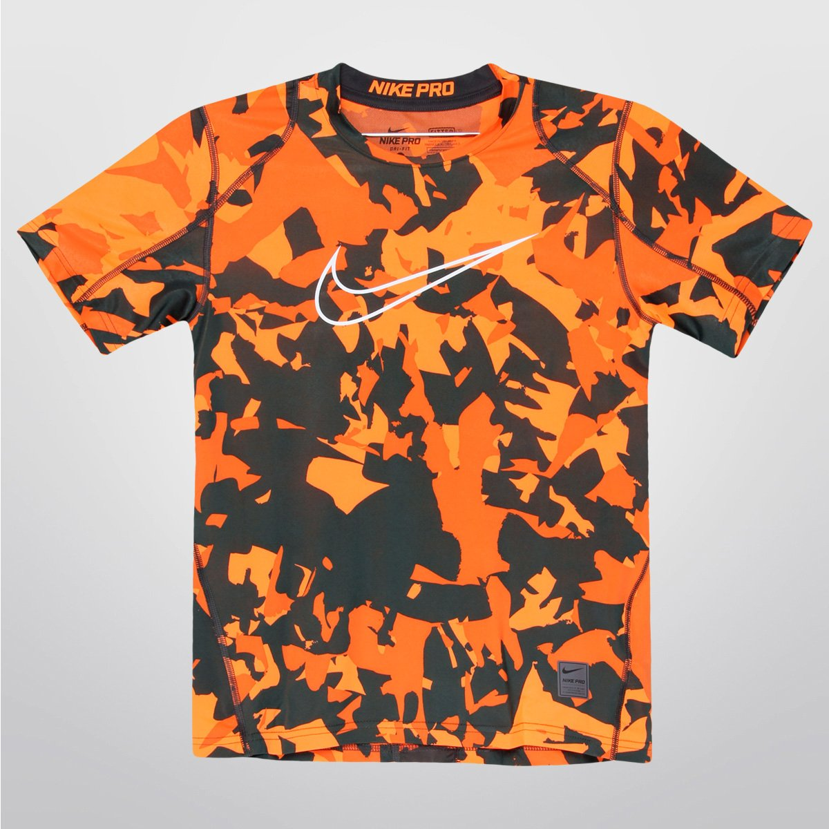 db7d580d6c04f Camiseta Nike Cool Aop Fitted Ss Infantil - Compre Agora