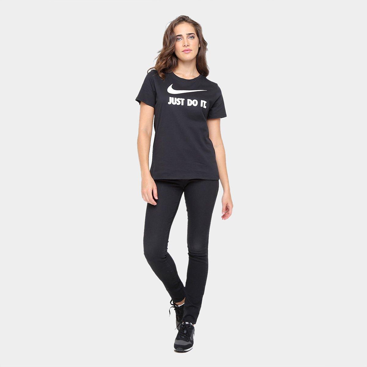6728eafa78 Camiseta Nike Crew Jdi Swsh Hbr Feminina - Compre Agora