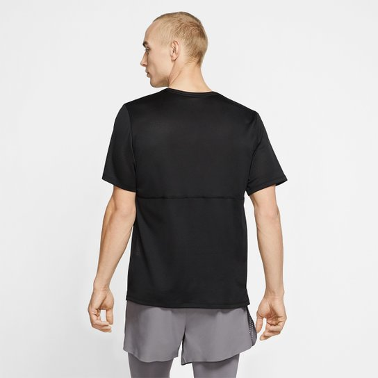 Camiseta Nike Dri-Fit Breathe Run Masculina - Preto