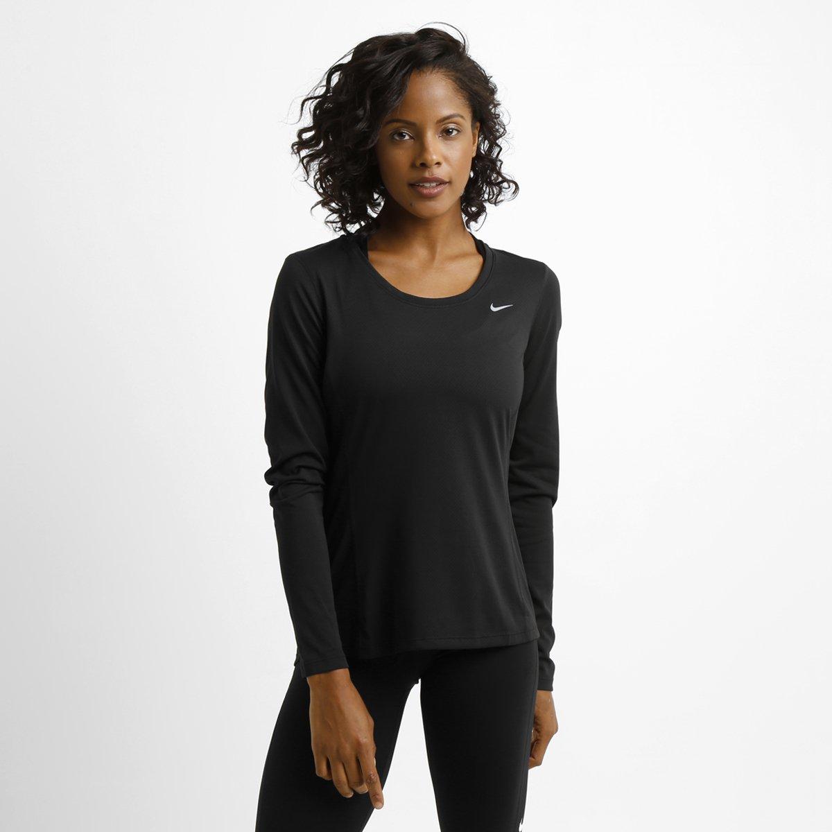 Camiseta Nike Dri-Fit Contour M L - Compre Agora  3e33a69c5dc70