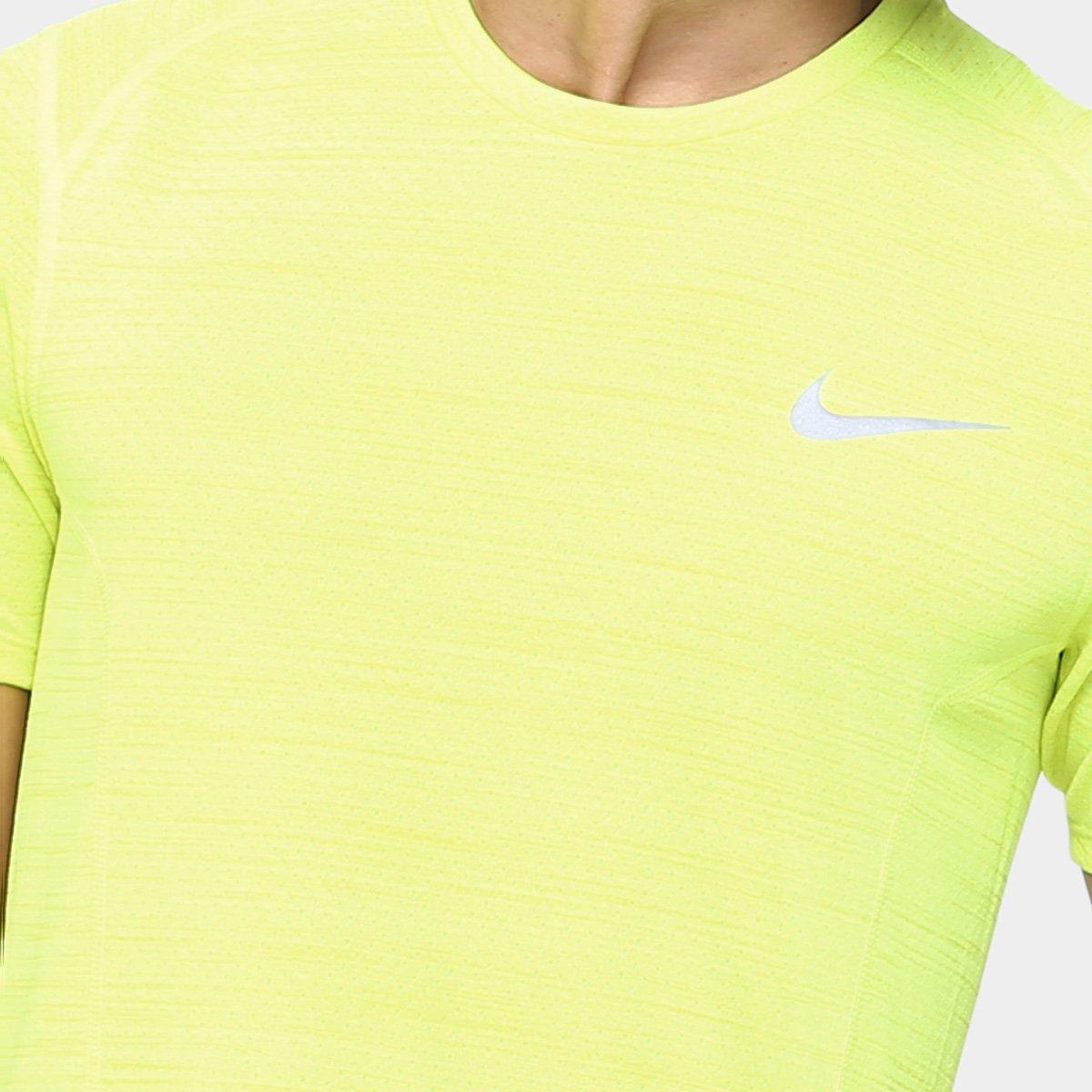 Camiseta Nike Dri-Fit Cool Miler SS Masculina - Compre Agora  d28527d28723c