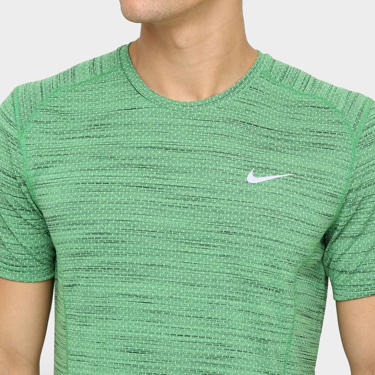 Camiseta Nike Dri-Fit Cool Miler SS - Compre Agora  b8336f619da91