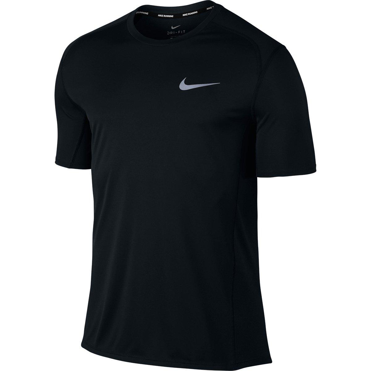 Camiseta Nike Dri-Fit Miler SS Masculina - Preto - Compre Agora ... 499e1edada71e