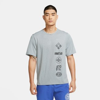 Camiseta Nike Dri-Fit Miler Wild Run Masculina