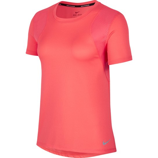Camiseta Nike Dri-Fit Run Feminina - Pink