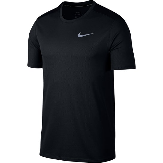 Camiseta Nike DRI-FIT Run Masculina - Preto